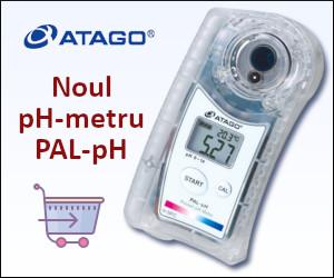 Atago PAL-pH - noul pH-metru de la Atago