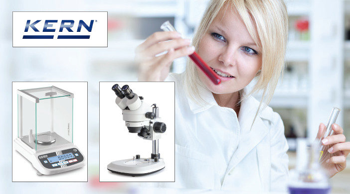 Promoție Kern pentru balanțe și microscoape utilizate în industria farmaceutică