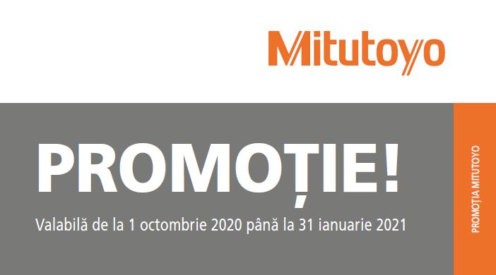 Mitutoyo - Promoție toamna 2020