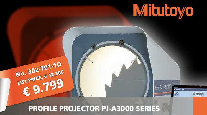 Promoție Mitutoyo - proiectoare de profil seria PJ-A3000