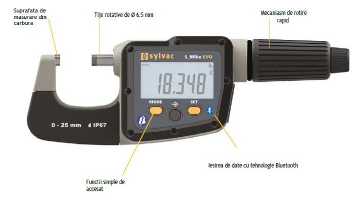 Sylvac - Micrometru rotativ S_Mike EVO