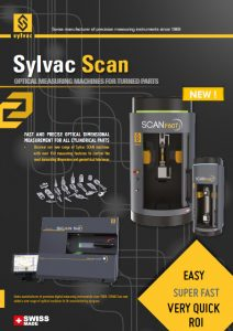 Sylvac Scan - optical measuring machines