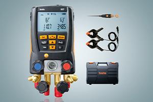 Testo 557 set - manifold digital